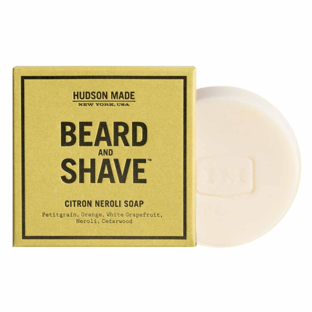 Hudson Made New York - The Beard and Shave Citron Neroli Soap