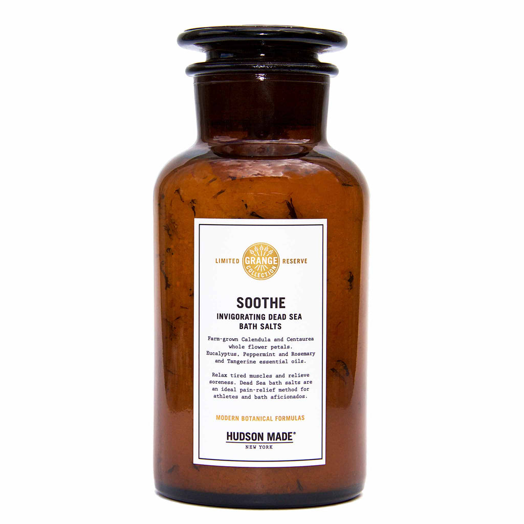 Hudson Made New York - Soothe / Invigorating Dead Sea Bath Salts