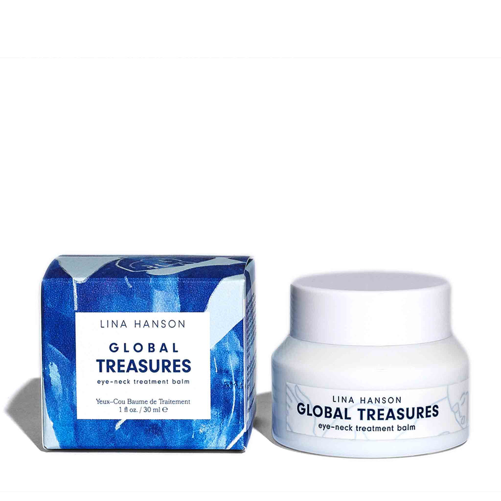 Lina Hanson - Global Treasures Eye-Neck Treatment Balm