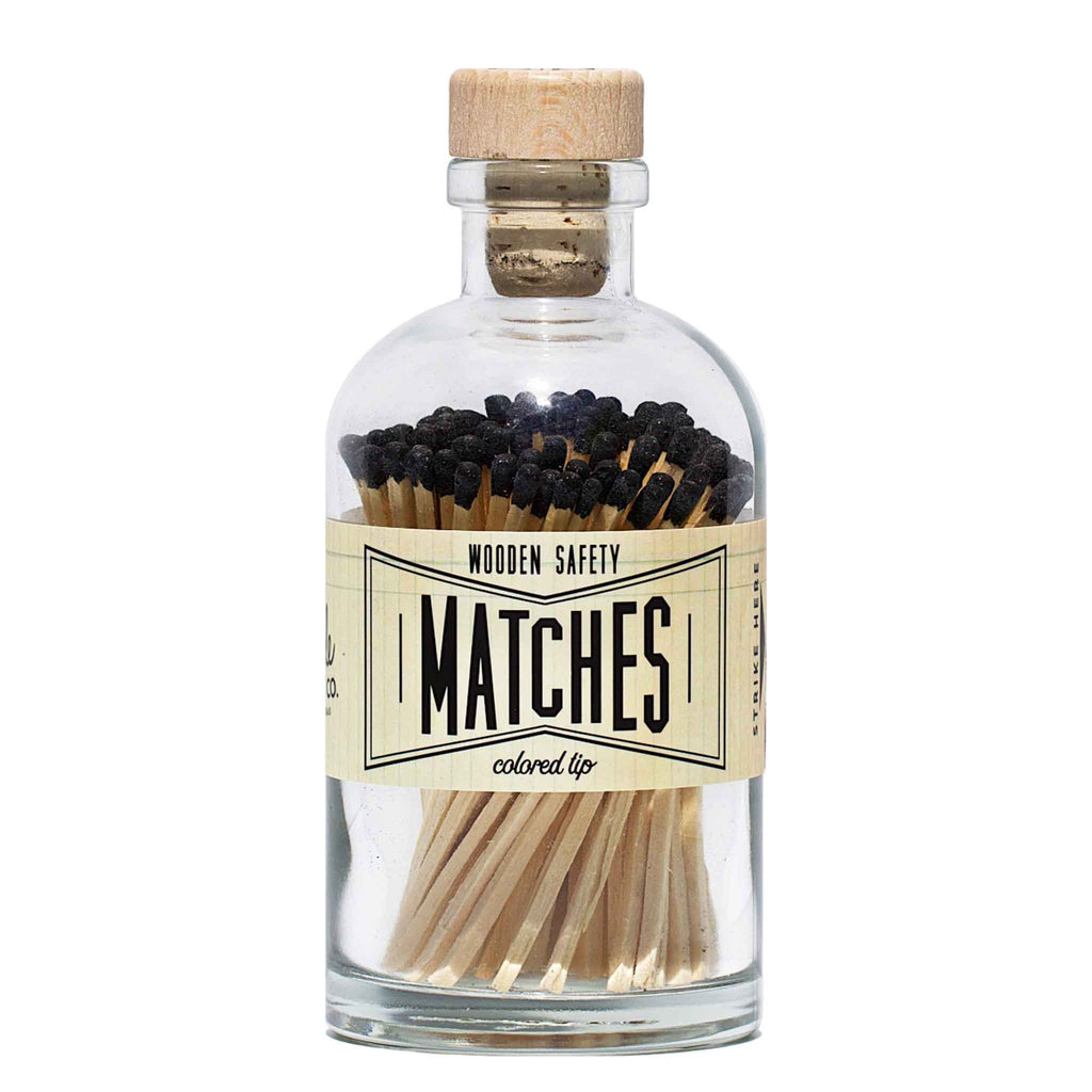 Market Made Co. - Apothecary Vintage Black Matches