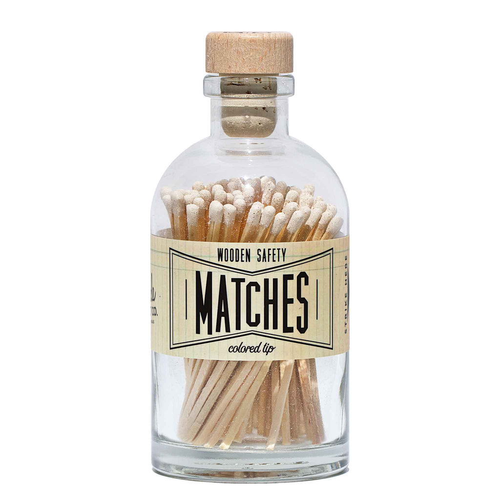 Market Made Co. - Apothecary Vintage White Matches