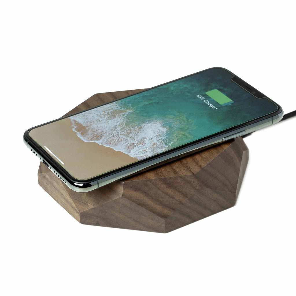 Oakywood - QI Wireless Charger (Walnut)