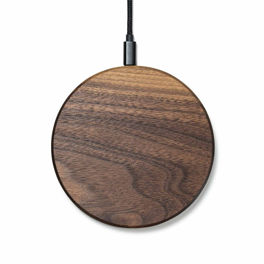 Oakywood - Slim Wireless Charging Pad (Walnut)