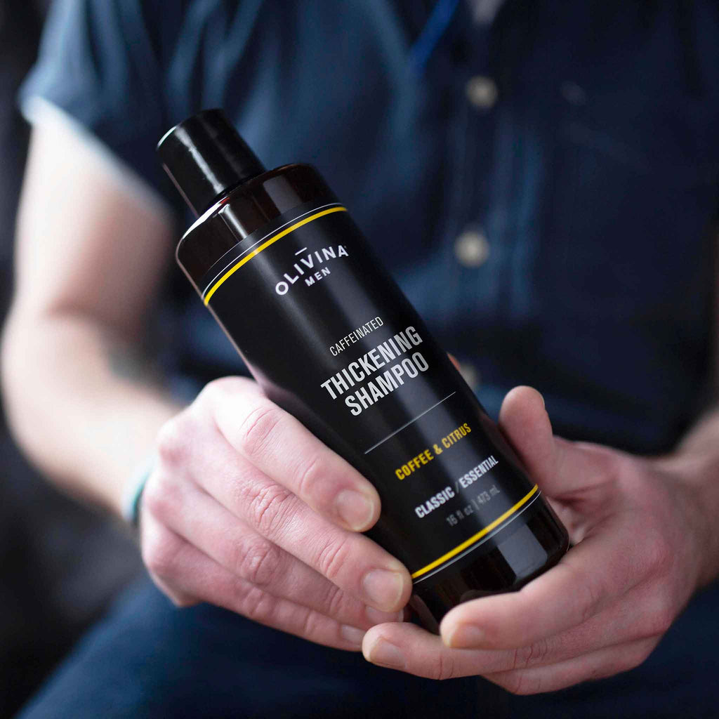 Olivina Men - Caffeinated Thickening Shampoo