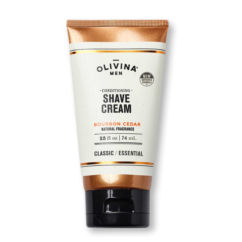 Olivina Men Conditioning Shave Cream Travel Size