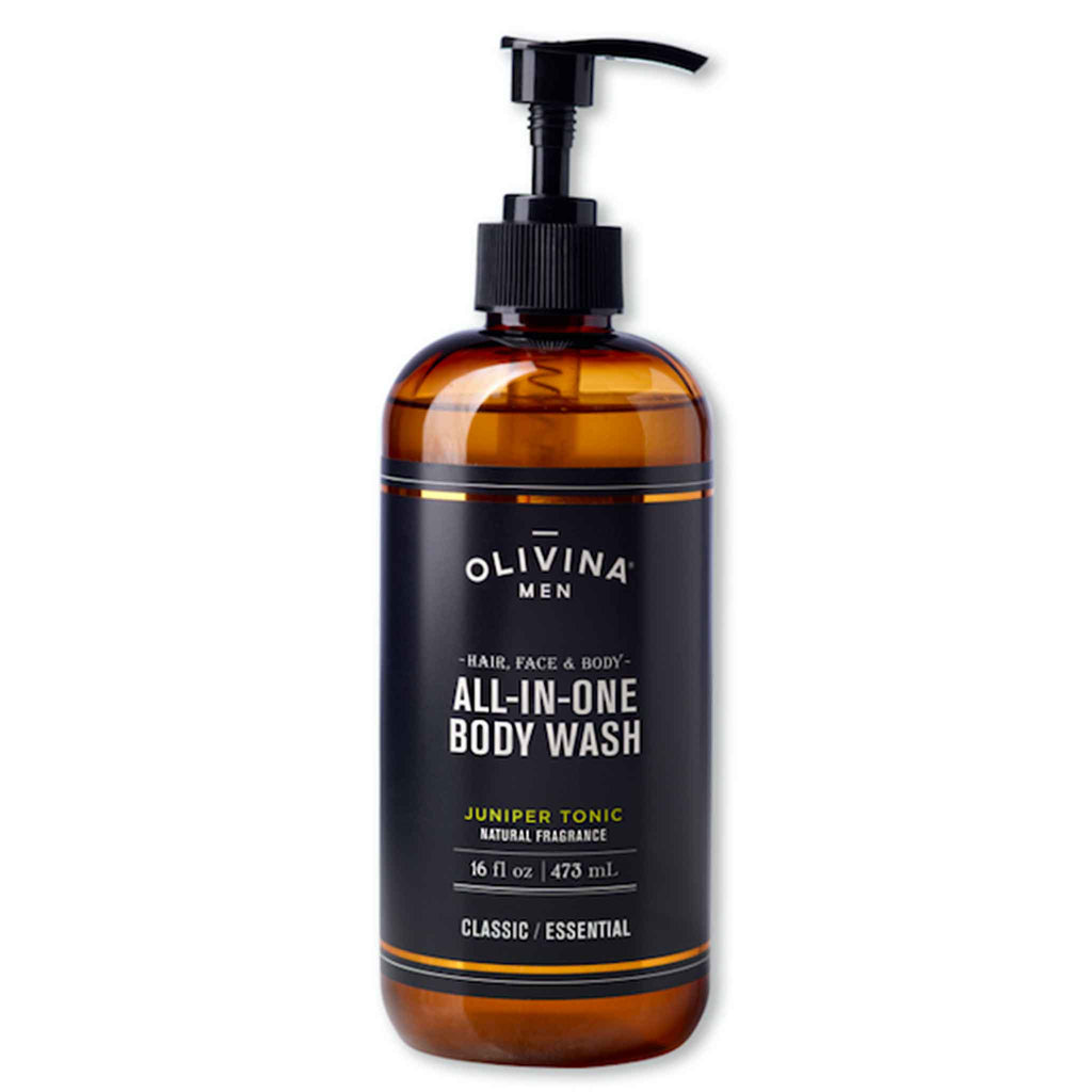 Olivina Men - Juniper Tonic All-in-One Body Wash