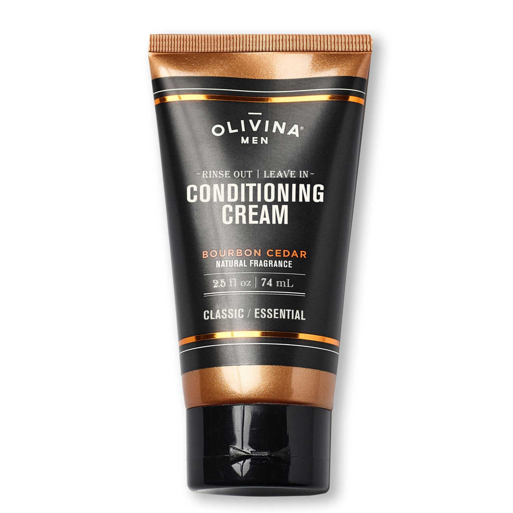 Olivina Men Rinse Out | Leave In Conditioning Cream Travel Size