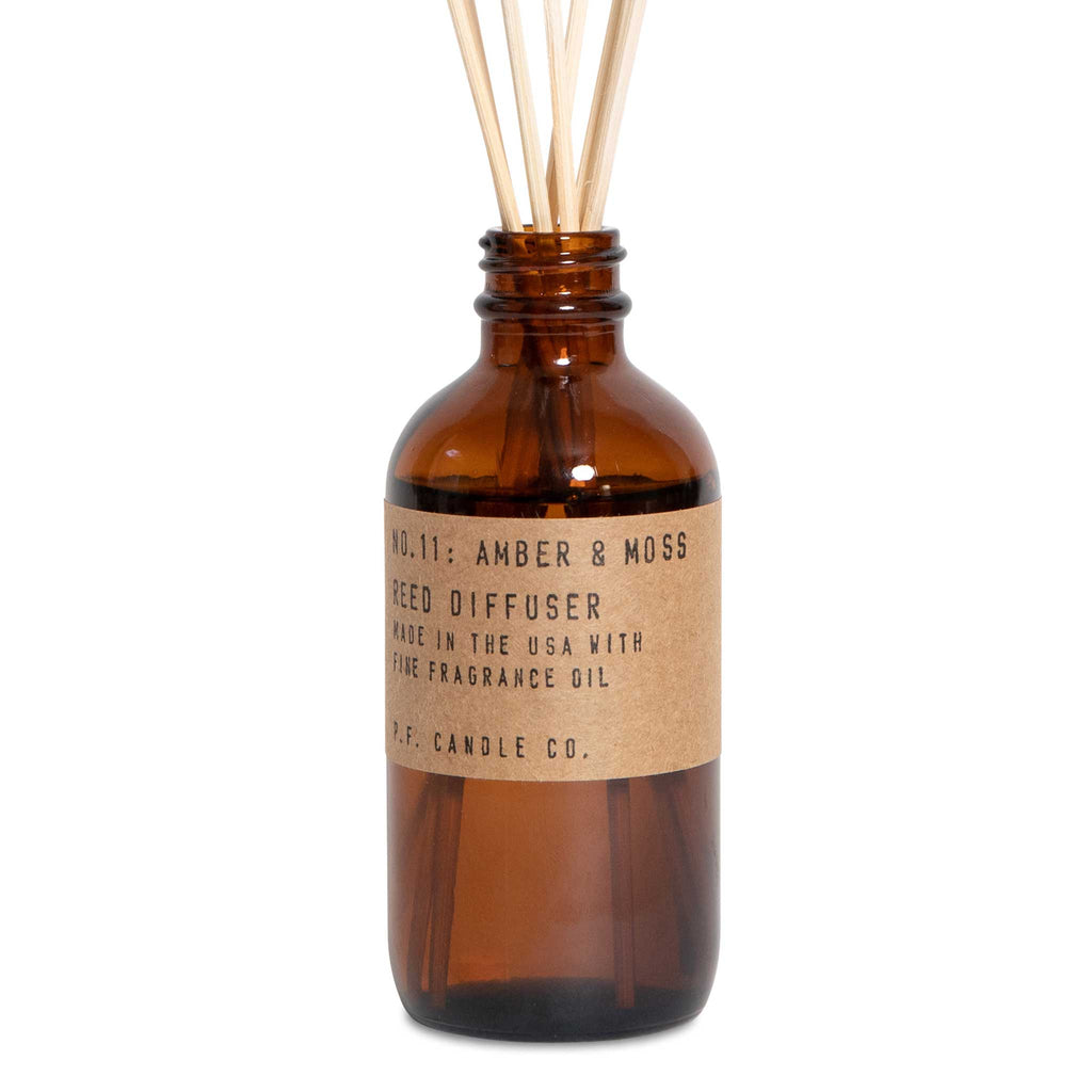 P. F. Candle Co. - Amber & Moss Reed Diffuser