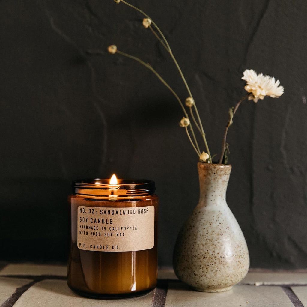 P. F. Candle Co. - Sandalwood Rose Candle