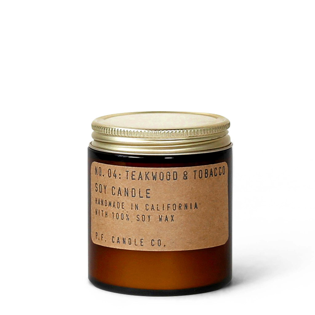 P. F. Candle Co. - Teakwood & Tobacco Mini Candle