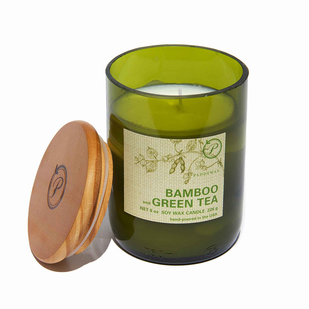 PaddyWax - Eco Bamboo & Green Tea Candle