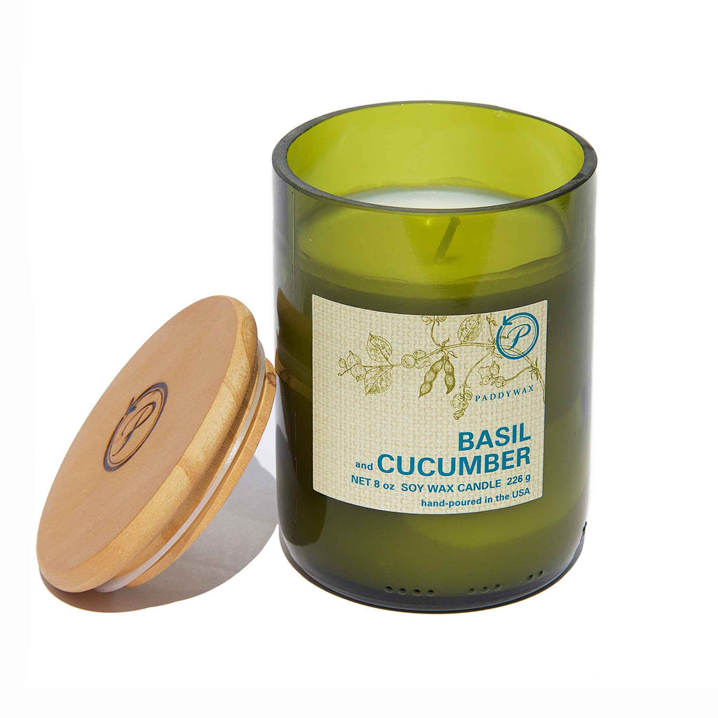 PaddyWax - Eco Basil & Cucumber Candle
