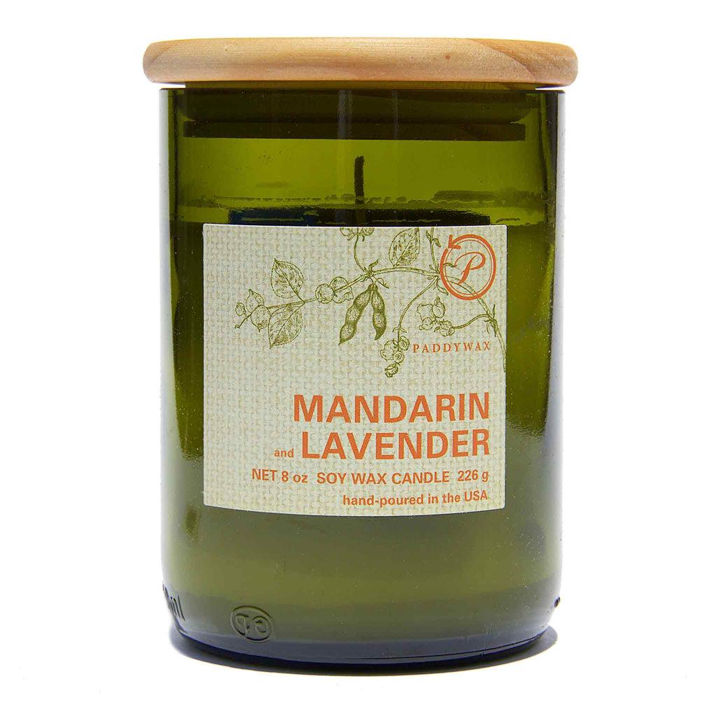 PaddyWax - Eco Mandarin & Lavender Candle