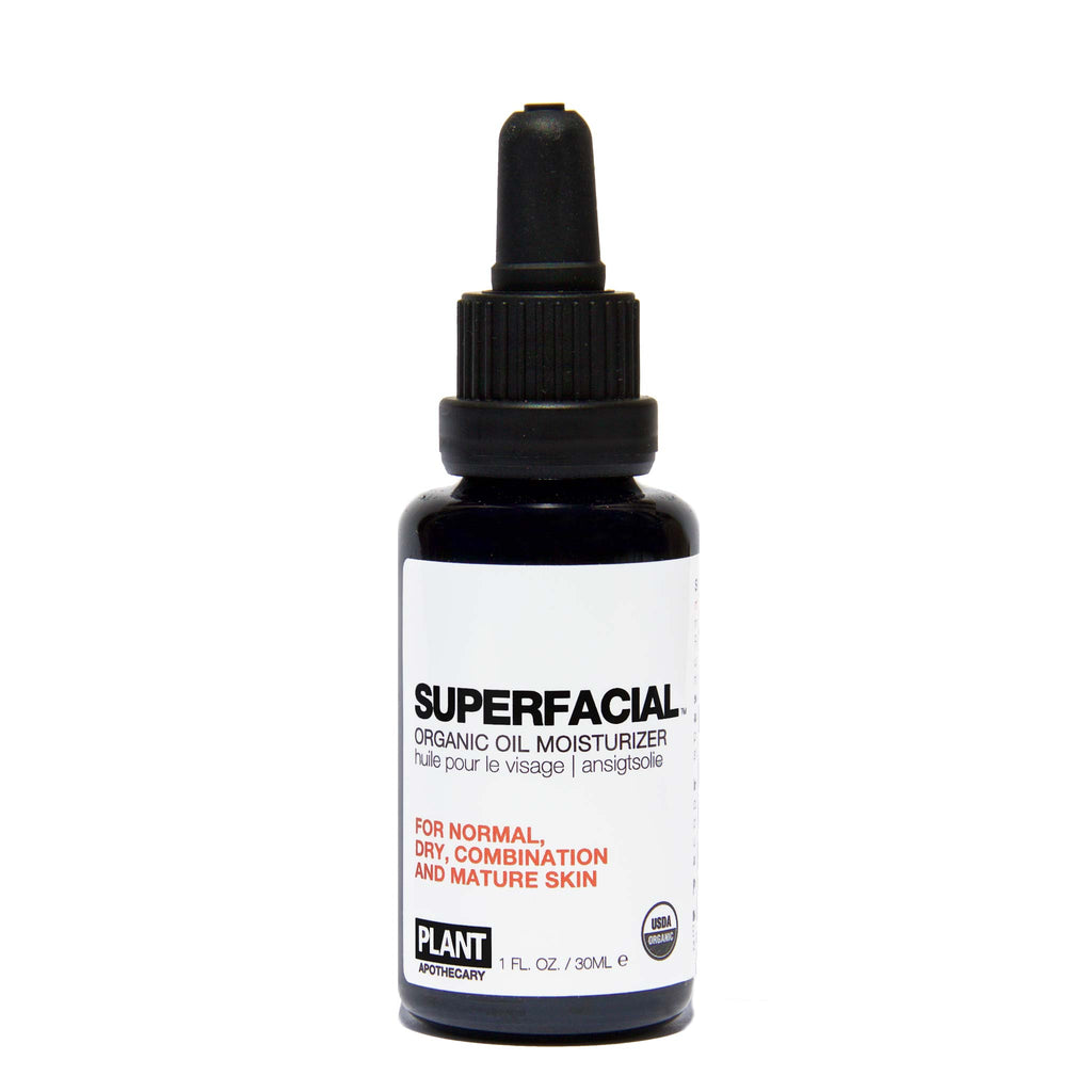 Plant Apothecary - SUPERFACIAL Organic Oil Moisturizer for Normal, Combination and Mature Skin