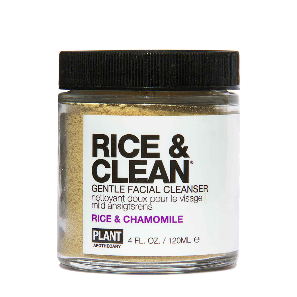 Plant Apothecary - RICE & CLEAN Gentle Facial Cleanser