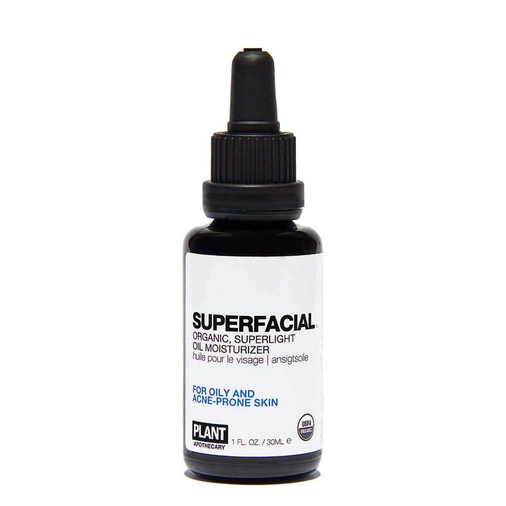Plant Apothecary - SUPERFACIAL Organic, Superlight Oil Moisturizer for Oily Skin