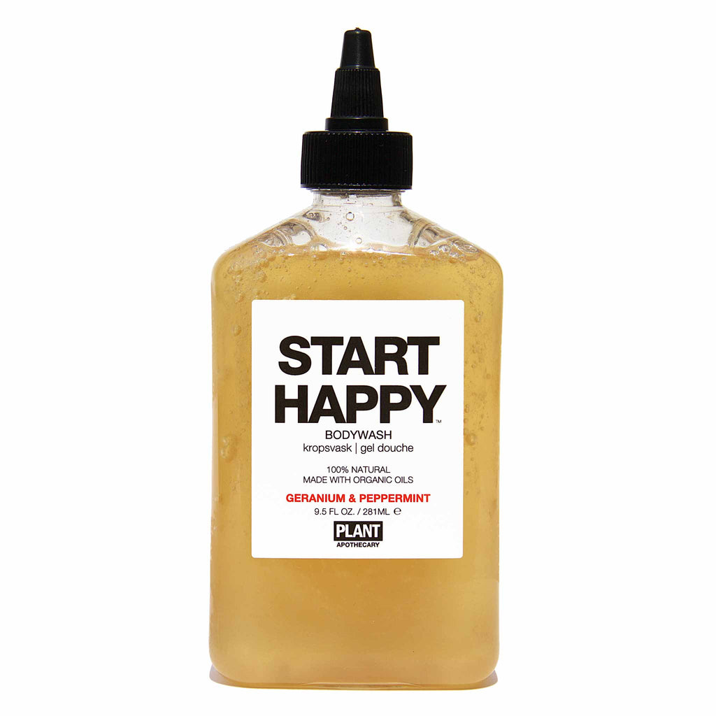 Plant Apothecary - START HAPPY Organic Body Wash