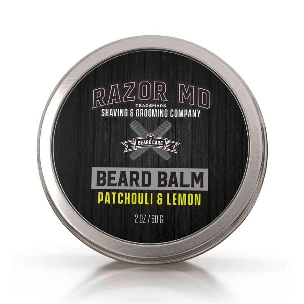 Razor MD - Patchouli & Lemon Beard Balm
