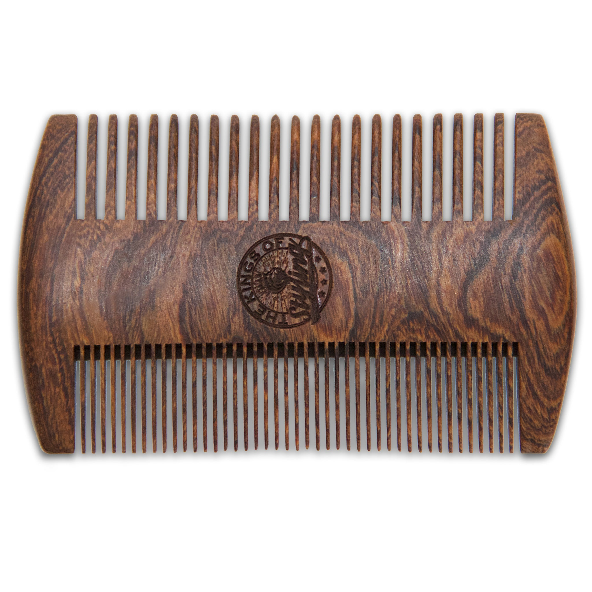 Double Sided Golden Sandalwood Comb