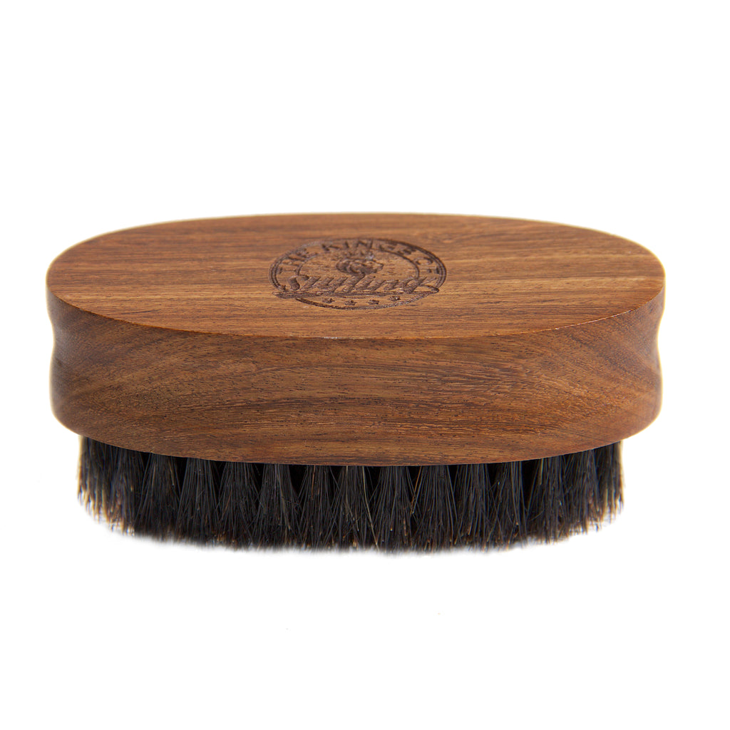 Extra Small Oval Beard Brush