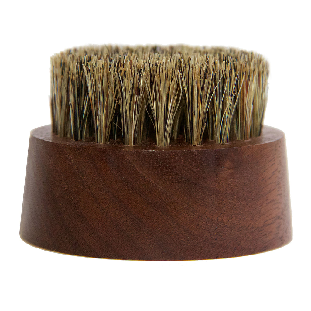 Small Wood Beard Balm Brush
