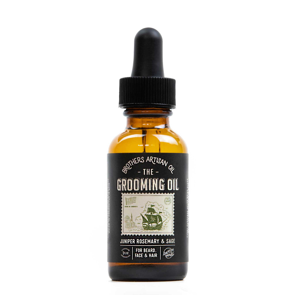 Brothers Artisan Oil - The Grooming Oil: Juniper, Rosemary & Sage