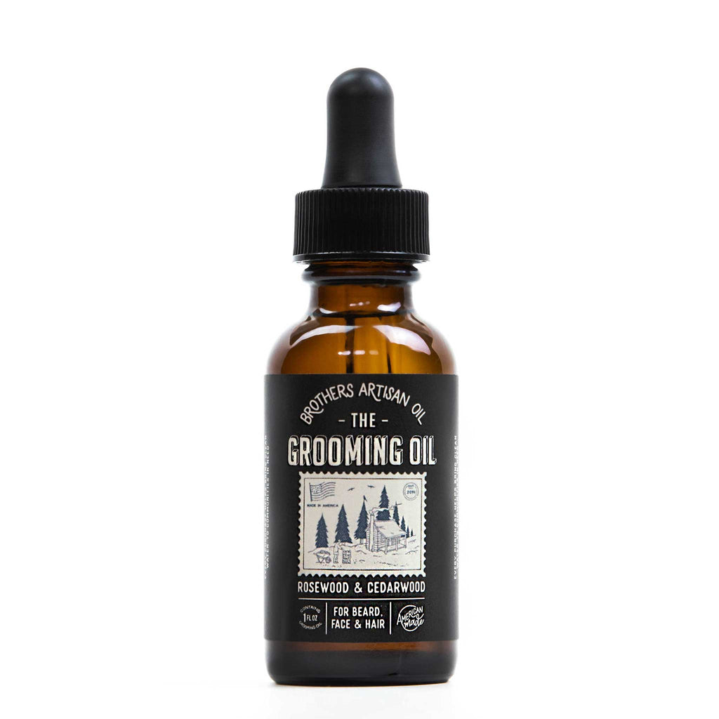 Brothers Artisan Oil - The Grooming Oil: Rosewood & Cedarwood