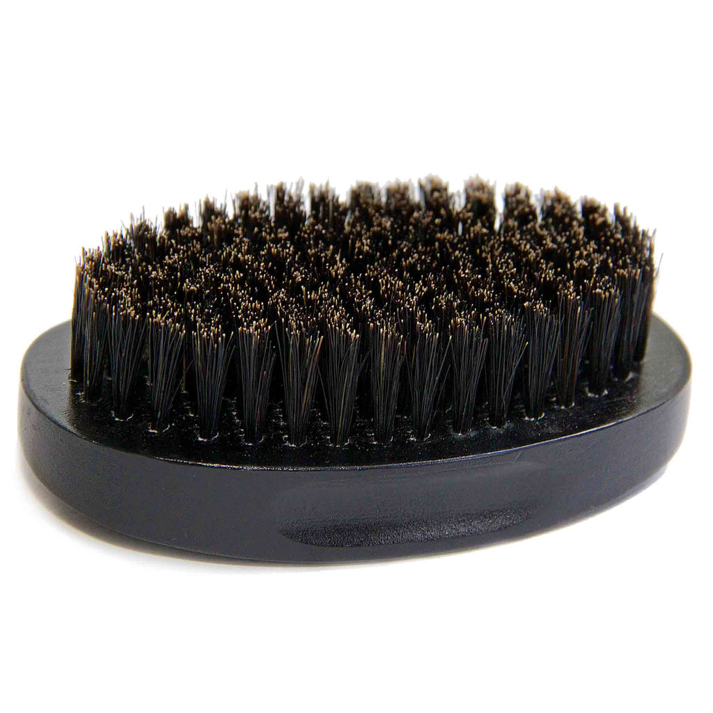 Small Black Oval Beard Brush
