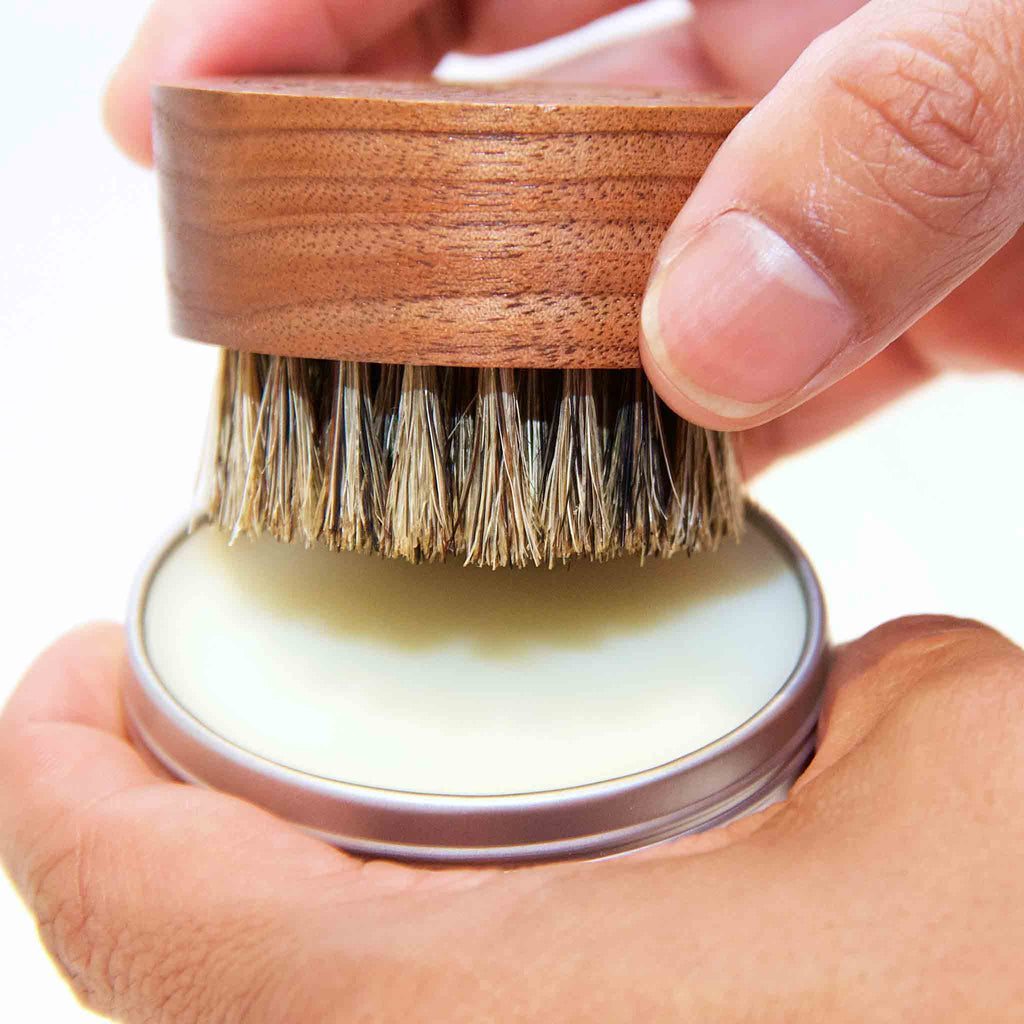 The Kings of Styling - Small Wood Beard Balm Brush