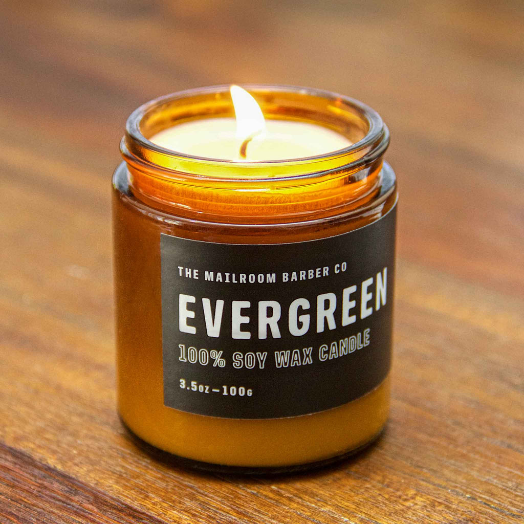 The Mailroom Barber Co - Evergreen Candle