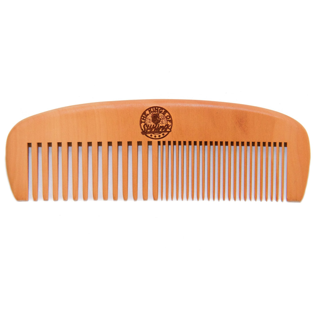 Double Tooth Peach Comb