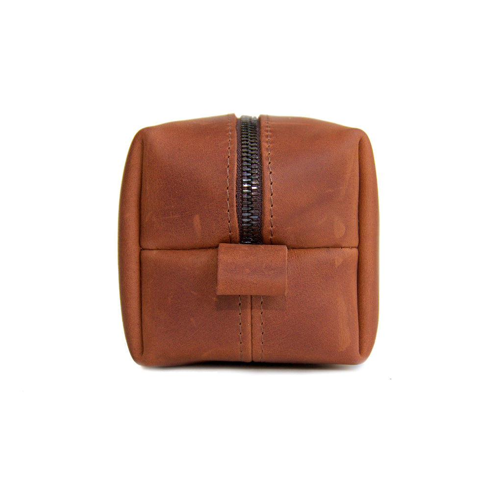 The Kings of Styling - Whiskey Leather Dopp Kit