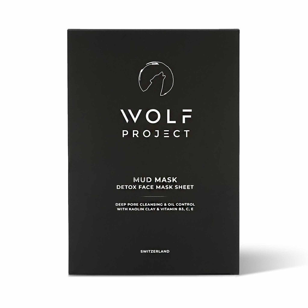 Wolf Project - Detox Mud Face Mask Sheet - 5 pack