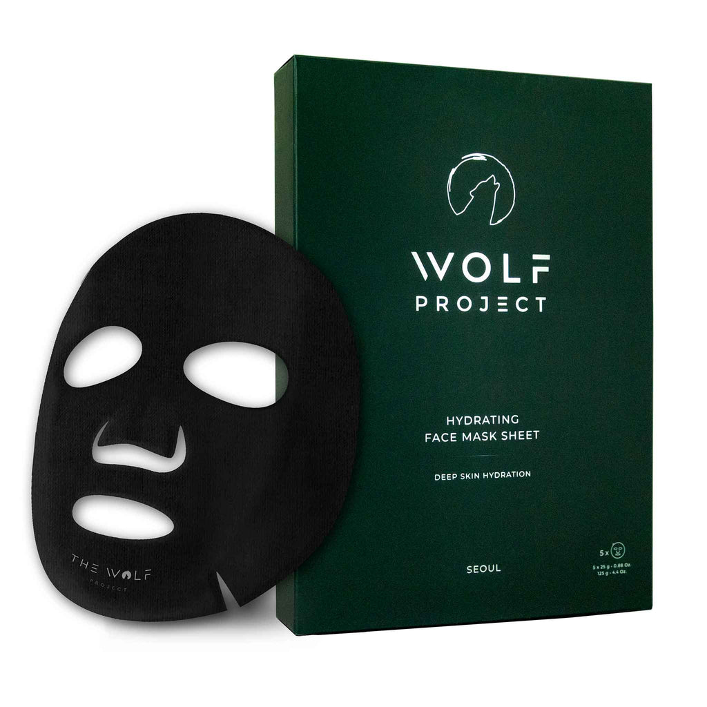 Wolf Project - Hydrating Face Mask Sheet - 5 pack