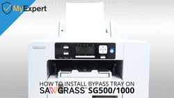 How to Install Bypass Tray on Sawgrass SG500 and SG1000 - MyExpert Blog