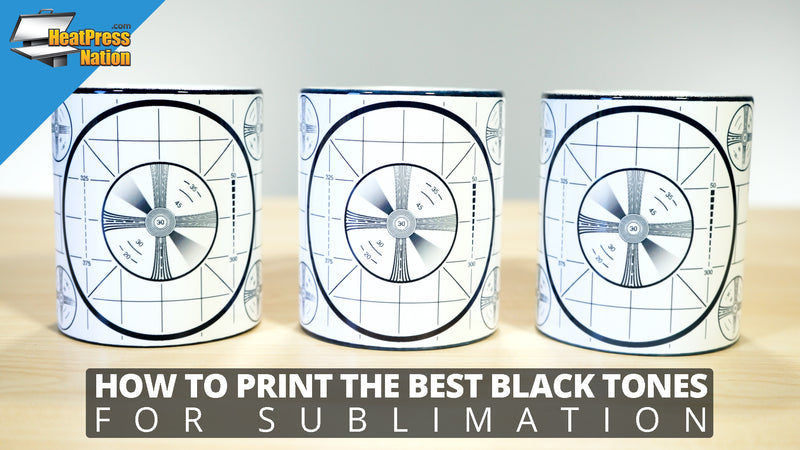 How To Print The Best Black Tones For Sublimation