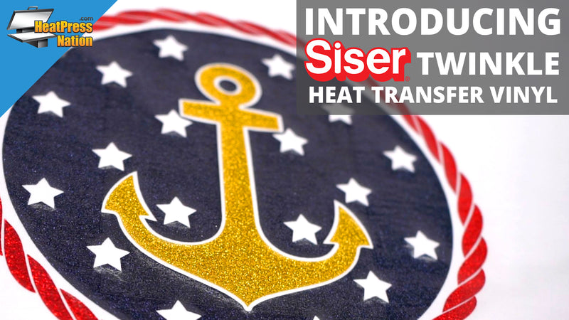Introducing Siser Twinkle Heat Transfer Vinyl