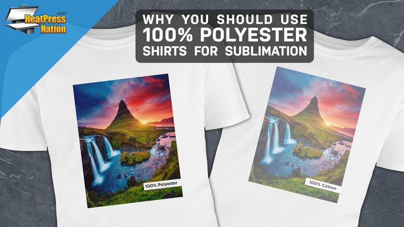 Why You Should Use 100% Polyester Shirts for Sublimation