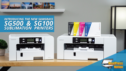 Introducing the New Sawgrass SG500 & SG1000 Desktop Sublimation Printers