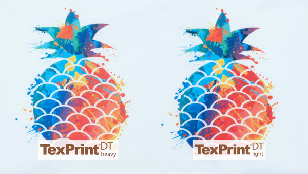 Polyester Shirt with TexPrint DT Heavy and DT Light