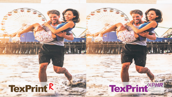 ChromaLuxe Photo Panels with TexPrint R and XPHR