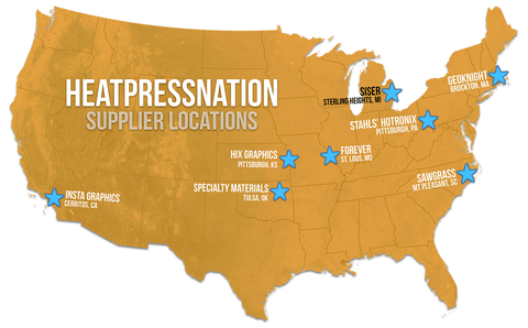 Web Map HPN Supplier Locations