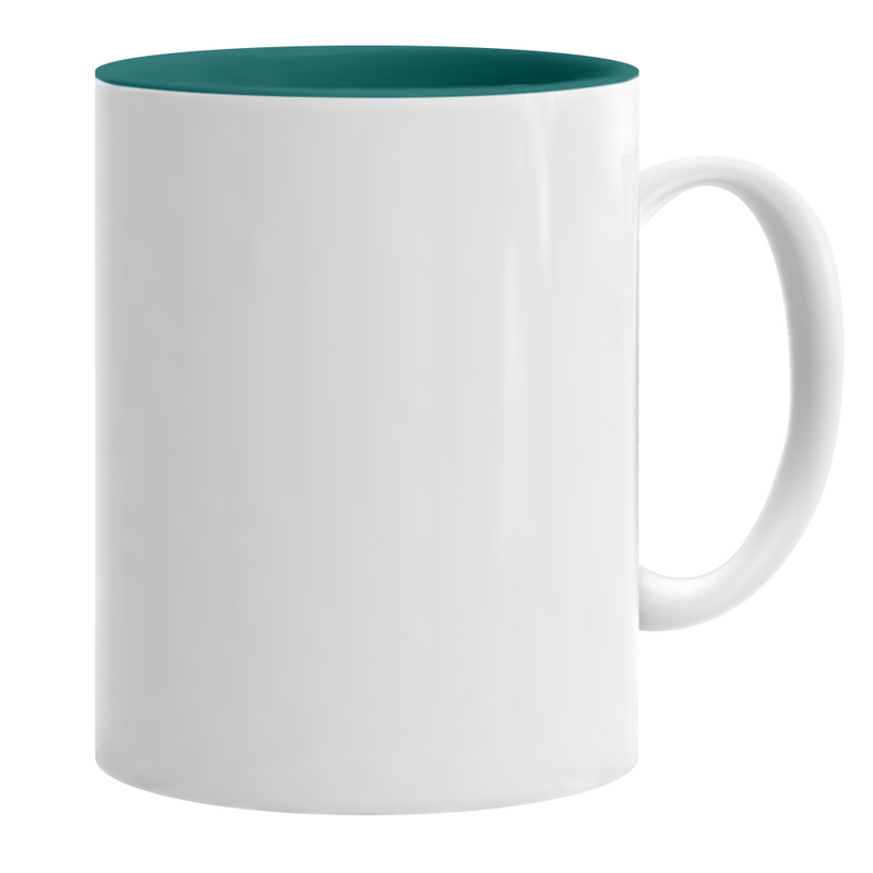 11 oz. ORCA Ceramic Sublimation Two Tone Mug - 36 Per Case