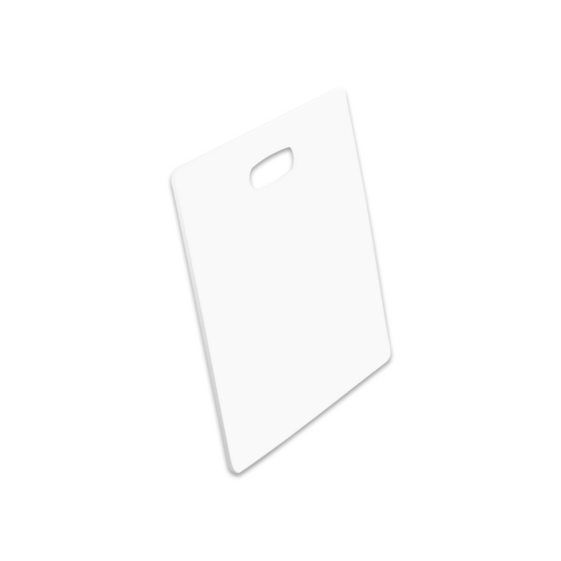 "Unisub Sublimation Blank Bag Tag : Square : 3.5"" x 3.5"" - 5 Pack"
