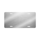"Unisub Sublimation Blank License Plate : Clear Gloss : 11.875"" x 5.875"" - 5 Pack"