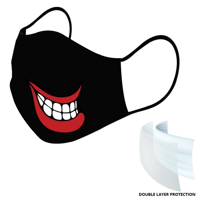 SubliCraft USA Made Cotton Blank Face Mask - Double Layer - 10 Pack