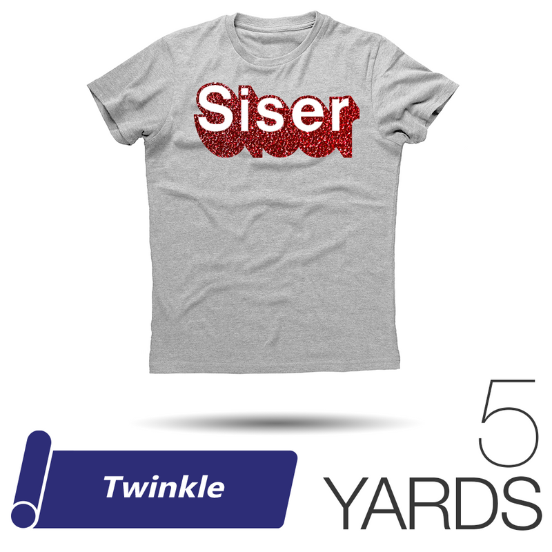 "Siser TWINKLE Heat Transfer Vinyl - 20"" x 5 Yards"