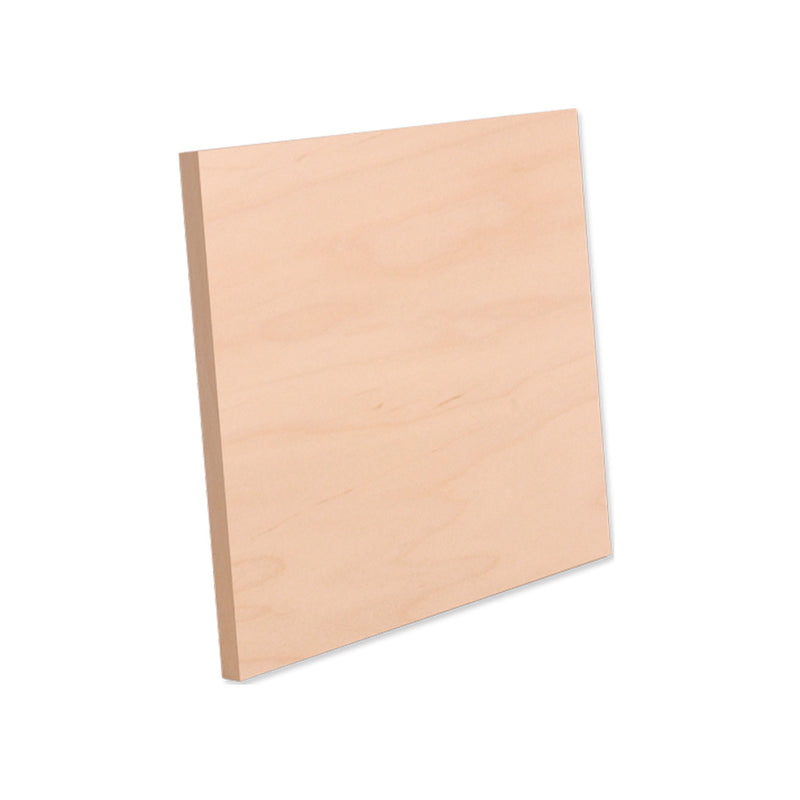 "ChromaLuxe Sublimation Blank Natural Wood Print : 10"" x 10"" - 7 Pack"