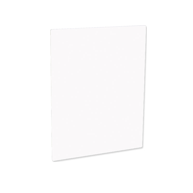 "ChromaLuxe Sublimation Aluminum Photo Panel : White Gloss : 8"" x 8"" - 5 Pack"