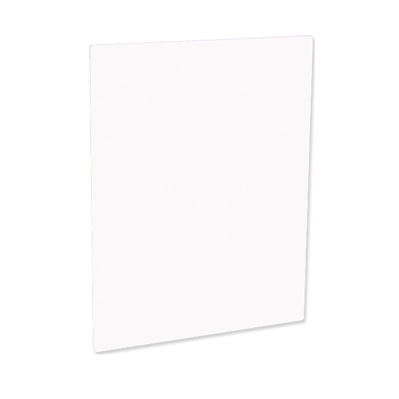 "ChromaLuxe Sublimation Blank Photo Panel : Matte White : 11"" x 14"" - 5 Pack"